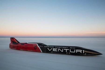 Электромобиль Venturi VBB-3 разгоняется до 549,1 км/ч — новый мировой рекорд скорости