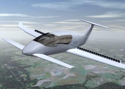 Во Франции разрабатывают электрический самолет Ampere, который получит 32-40 электропропеллеров