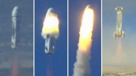 Blue Origin успешно испытала систему эвакуации экипажа с корабля New Shepard, сохранив при этом ракету