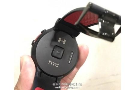 Появились «живые» фото умных часов HTC Halfbeak на Android Wear