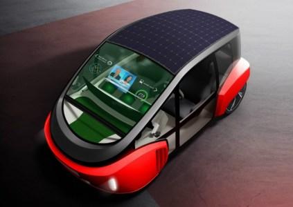 Rinspeed Oasis — концепт компактного городского электромобиля с автопилотом