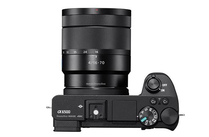 Sony анонсировала новый беззеркальный флагман A6500 с APS-C сенсором и 5-осевой системой стабилизации изображения