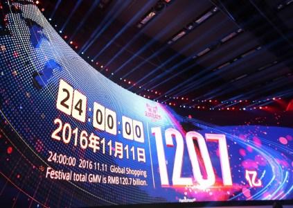 В «День холостяка» китайская Alibaba Group продала товаров на $17,8 млрд, что на $3,5 млрд больше, чем в 2015 году