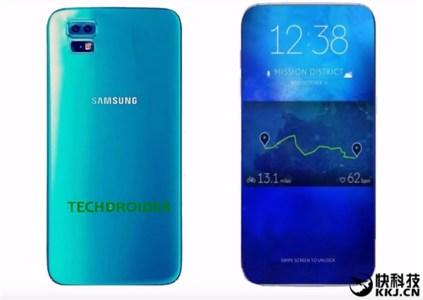 В следующем году Samsung выпустит смартфон с безрамочным дисплеем, занимающим более 90% лицевой поверхности