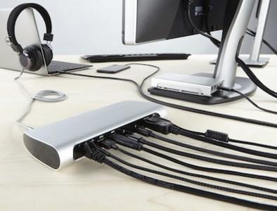 «Э – эффективность»: Док-станция Belkin Thunderbolt 3 Express Dock HD решит проблему нехватки разъемов в новых Apple MacBook Pro