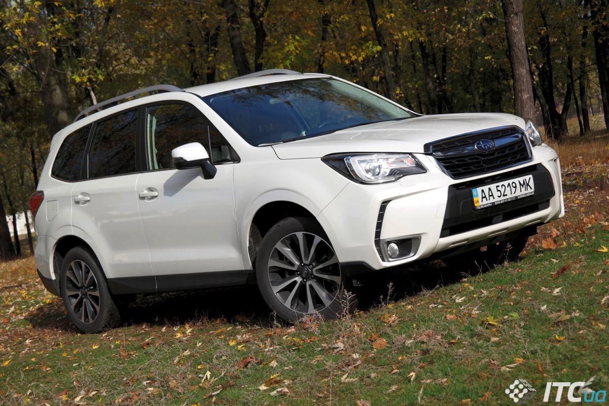 Радуемся честности Subaru Forester, но не его цене - ITC.ua