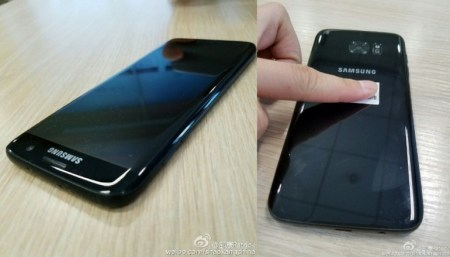 Опубликованы реальные фотографии Samsung Galaxy S7 Edge в цвете <strike>Jet Black</strike> Glossy Black