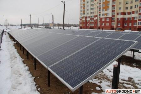 В белорусском Гродно заработала первая в стране автомойка на солнечных батареях