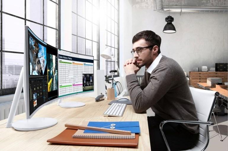 Samsung анонсировала изогнутый компьютерный монитор на базе технологии квантовых точек и покажет его на CES 2017