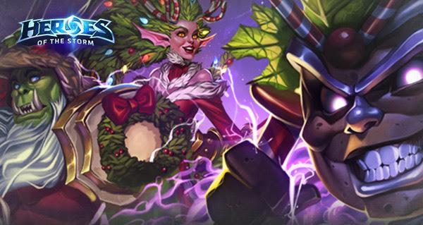 Blizzard проводит акции и специальные события в своих играх, приуроченные к новогодним праздникам