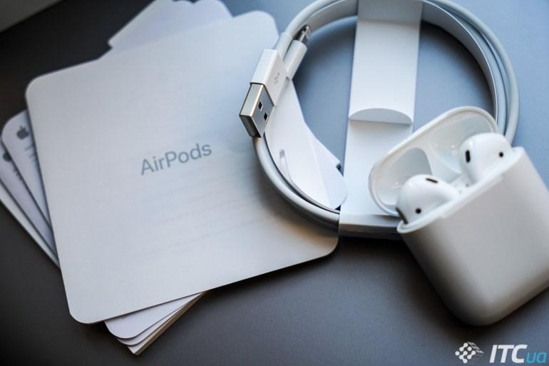 Обзор беспроводных наушников Apple AirPods