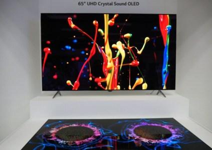 Новые OLED панели от LG Display: чрезвычайно тонкие и с интегрированной акустикой