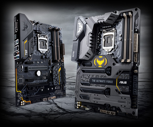 ASUS представляет материнские платы серии Z270 для процессоров Intel Core седьмого поколения