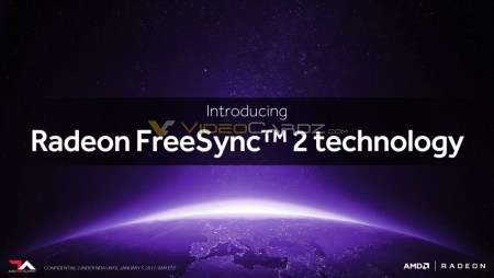 AMD анонсирует на CES 2017 технологию Freesync 2, которая улучшит возможности HDR