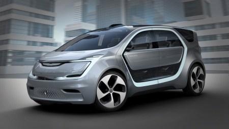 Chrysler Portal — концепт электромобиля со встроенной селфи-камерой, распознающий лица и голоса своих пассажиров [CES 2017]
