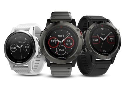 Garmin анонсировала компактные умные часы серии Fenix 5 в трёх модификациях