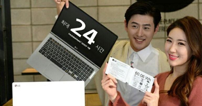 Новый ноутбук LG All Day Gram способен работать 24 часа без подзарядки и весит менее 1 кг