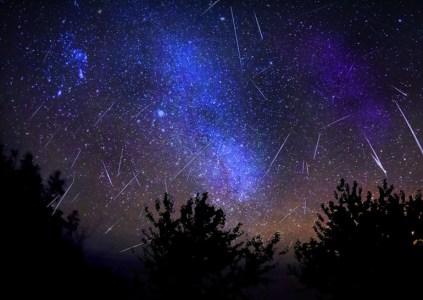 В ночь с 3 на 4 января в Украине можно наблюдать максимум метеорного потока Квадрантиды