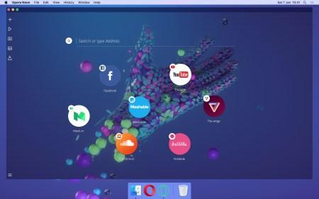 Концепт браузера Opera Neon демонстрирует то, каким разработчик видит будущее всемирной сети
