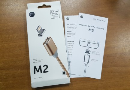 Краткий опыт использования: Кабель Moizen M2 Lightning с магнитным коннектором