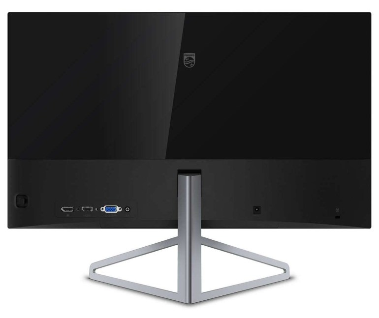 Philips Moda 245C7QJSB - стильный сверхтонкий 24-дюймовый монитор в безрамочном дизайне стоимостью порядка 6000 грн