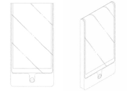 «Стильный подворот»: LG запатентовала смартфон с гибким экраном, завернутым через верхнюю грань на заднюю панель корпуса