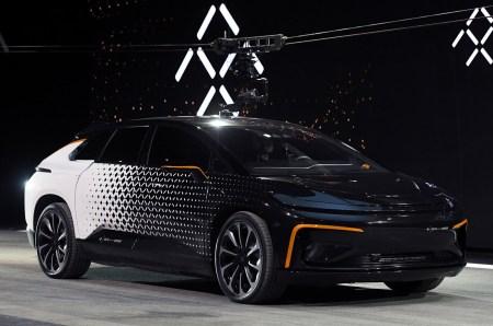 Faraday Future теперь планирует всего две модели электромобилей вместо семи