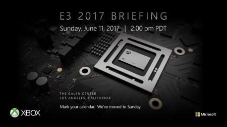 Microsoft представит игровую консоль Xbox Scorpio на выставке E3 2017 11 июня