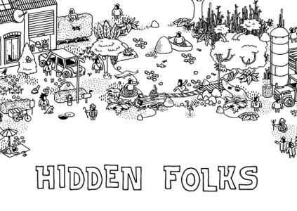 Hidden Folks: ручная работа