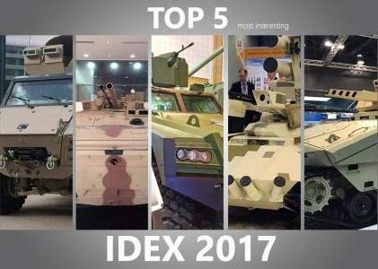 Издание Defence Blog внесло украинский беспилотный минибронетранспортер «Фантом» в ТОП-5 наиболее интересных новинок выставки IDEX-2017