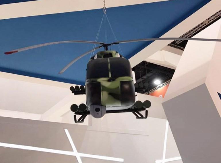 """""""Укроборонпром"""" представил на выставке IDEX-2017 концепт легкого многоцелевого ударного вертолета КТ112УД (КТ112 """"Combat"""")"""