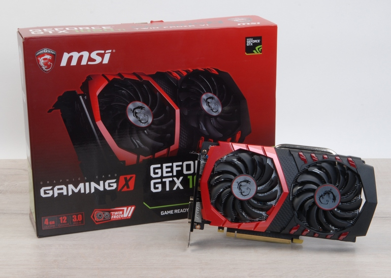 Обзор видеокарты MSI <b>GeForce GTX</b> 1050 Ti GAMING X 4G - ITC.ua