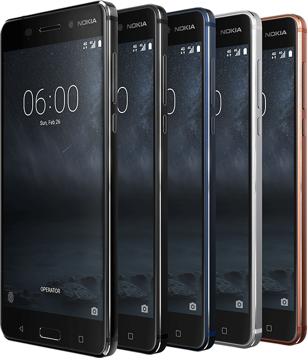 HMD Global представила три Android-смартфона Nokia: новые Nokia 5 и Nokia 3, а также международную версию Nokia 6