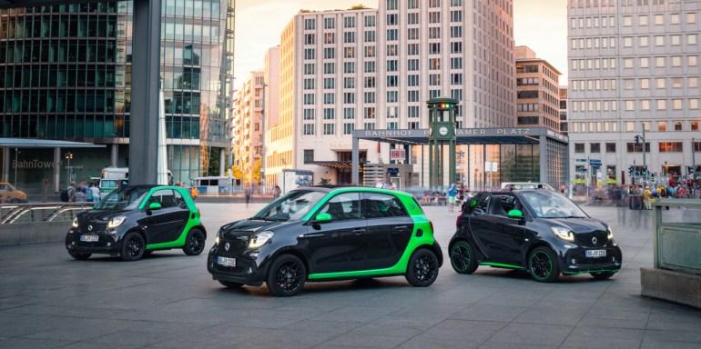 """""""Исключительно электромобили"""": Осенью текущего года Smart прекратит продавать в США и Канаде бензиновые версии своих автомобилей"""