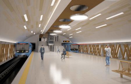 В метро на Виноградарь поезда будут ездить друг над другом по вертикально ориентированным тоннелям