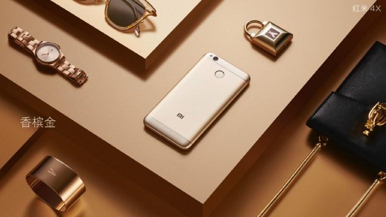 Представлен смартфон Xiaomi Redmi 4X: 5-дюймовый HD-экран, 8-ядерный Snapdragon 435, батарея на 4100 мАч и цена от $100