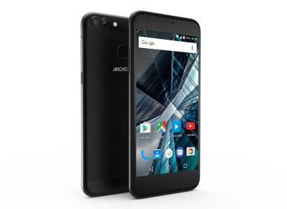 ARCHOS представила смартфоны 50 Graphite и 55 Graphite с алюминиевым корпусом, двойными камерами, USB-C и Android 7 по цене от €130