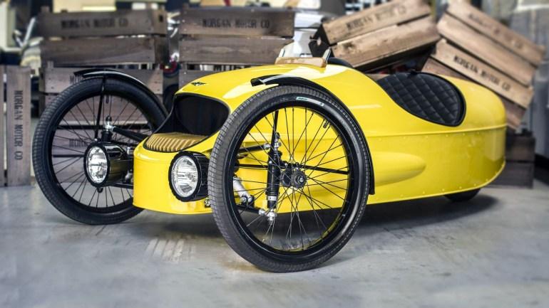 Легендарный британский автопроизводитель Morgan представил EV3 Junior - трехколесный электромобиль для детей стоимостью $10 тыс.