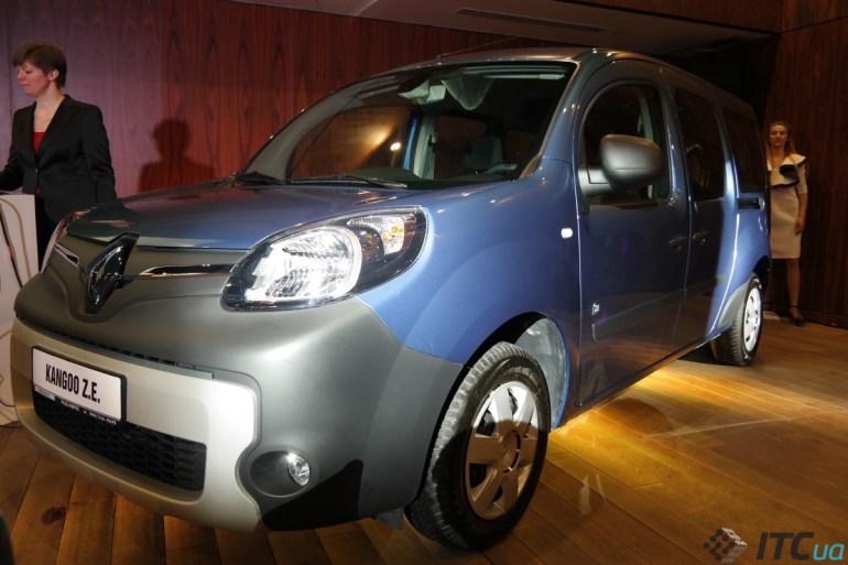 Электрофургон Renault Kangoo ZE: реальный пробег и украинская цена