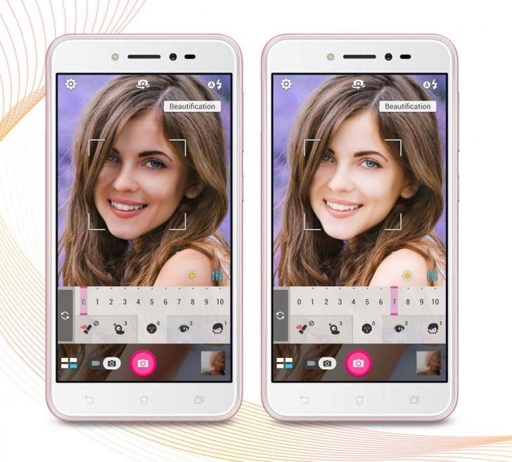 Смартфон ASUS ZenFone Live предназначен для любителей селфи и наделен функцией улучшения изображения лица в режиме реального времени