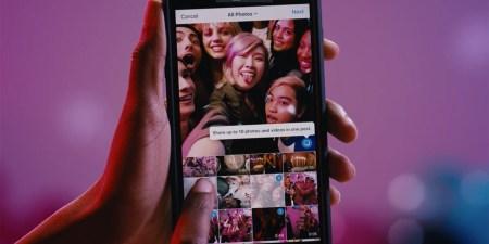 В Instagram появились галереи – до десяти фото и видео в одной публикации