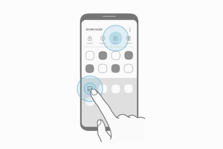 Дизайн Samsung Galaxy S8 подтвержден фирменным ПО Secure Folder