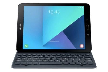 Планшет Samsung Galaxy Tab S3 может получить не только стилус S Pen, но и съемную аппаратную клавиатуру-подставку