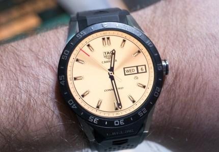 Люксовые умные часы Tag Connected Modular с Android Wear 2.0, которую можно будет «отключать», выйдут 14 марта