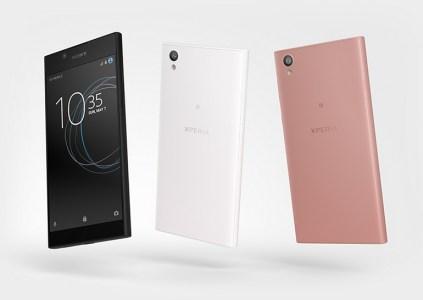 Бюджетный 5,5-дюймовый смартфон Sony Xperia L1 получил SoC MediaTek MT6737T