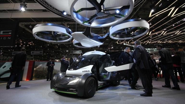 Компании Airbus и Italdesign представили концепт модульного электромобиля Pop.Up, способного ездить или летать