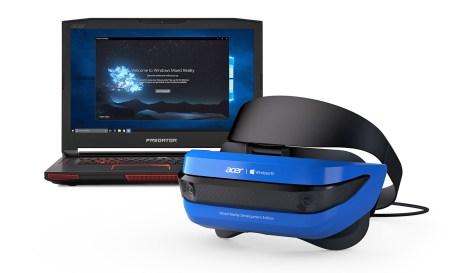 Microsoft представила первую гарнитуру Windows Mixed Reality в исполнении Acer, которую разработчики получат уже в этом месяце. Смешанная реальность придет и на Xbox