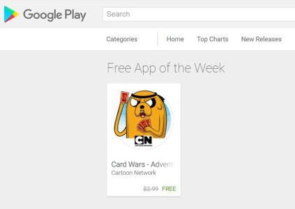 Google Play Store еженедельно будет бесплатно раздавать по одному платному приложению