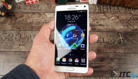 Для смартфонов Samsung Galaxy Note 4 выпущено обновление ПО, которое включает последний пакет безопасности и оптимизирует расход батареи