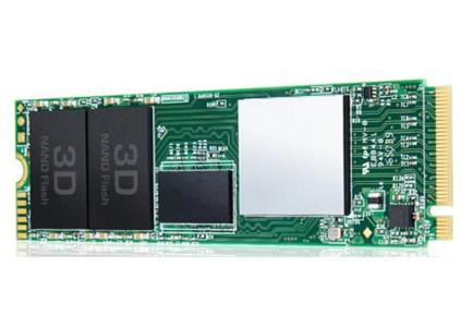 Transcend MTE850 — первые SSD компании типоразмера M.2 (2280) и с поддержкой PCIe и NVMe